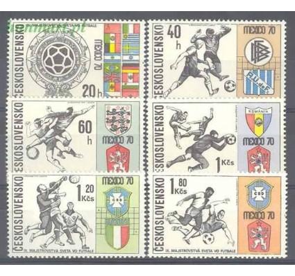 Znaczek Czechosłowacja 1970 Mi 1958-1963 Czyste **