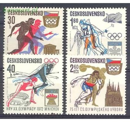 Znaczek Czechosłowacja 1971 Mi 2045-2048 Czyste **