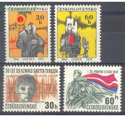Znaczek Czechosłowacja 1972 Mi 2054-2057 Czyste **
