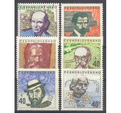 Znaczek Czechosłowacja 1972 Mi 2073-2078 Czyste **
