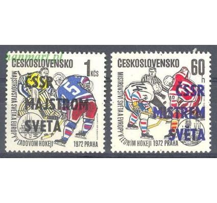 Znaczek Czechosłowacja 1972 Mi 2084-2085 Czyste **