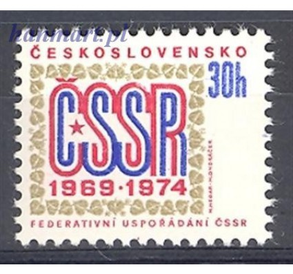 Znaczek Czechosłowacja 1974 Mi 2179 Czyste **