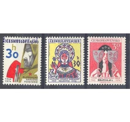 Znaczek Czechosłowacja 1974 Mi 2211-2213 Czyste **