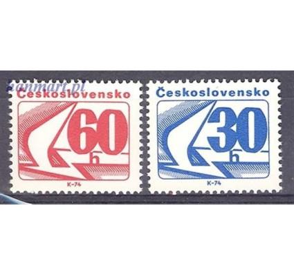 Znaczek Czechosłowacja 1975 Mi 2238-2239 Czyste **