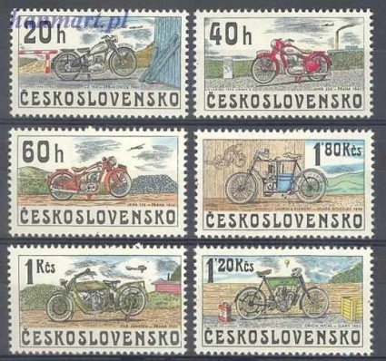 Znaczek Czechosłowacja 1975 Mi 2272-2277 Czyste **