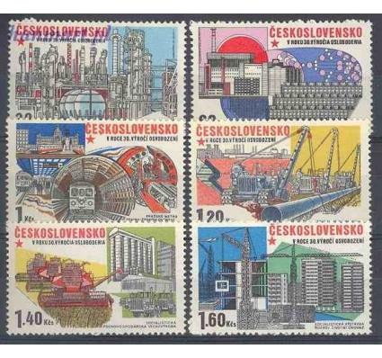Znaczek Czechosłowacja 1975 Mi 2285-2290 Czyste **