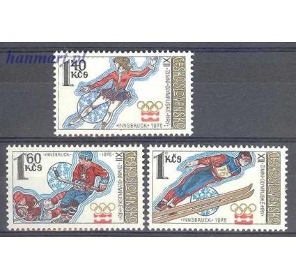 Znaczek Czechosłowacja 1976 Mi 2305-2307 Czyste **