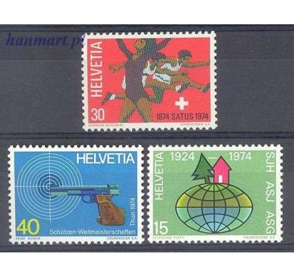 Znaczek Szwajcaria 1974 Mi 1017-1019 Czyste **