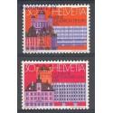Szwajcaria 1974 Mi 1027-1028 Czyste **