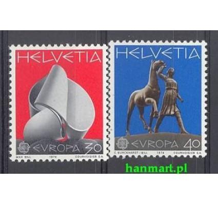Znaczek Szwajcaria 1974 Mi 1029-1030 Czyste **