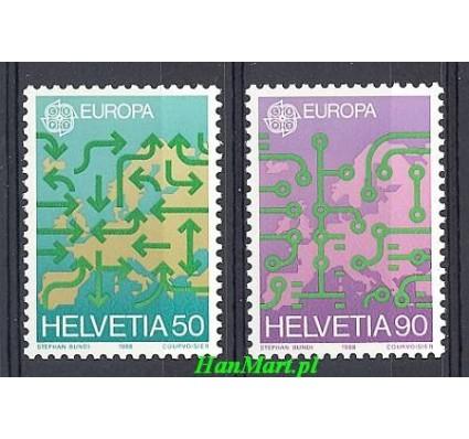Znaczek Szwajcaria 1988 Mi 1370-1371 Czyste **