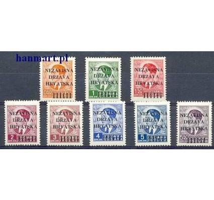 Znaczek Chorwacja 1941 Mi 1-8 Z podlepką *