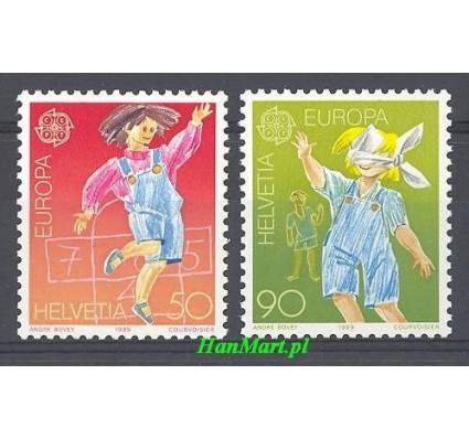 Znaczek Szwajcaria 1989 Mi 1391-1392 Czyste **