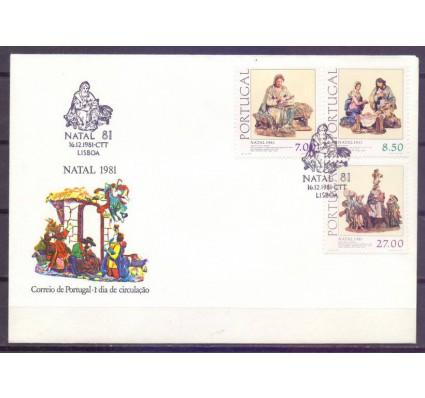 Znaczek Portugalia 1981 Mi 1549-1551 FDC