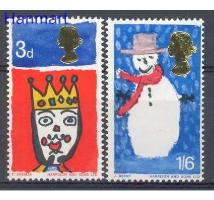 Znaczek Wielka Brytania 1966 Mi 442-443 Czyste **