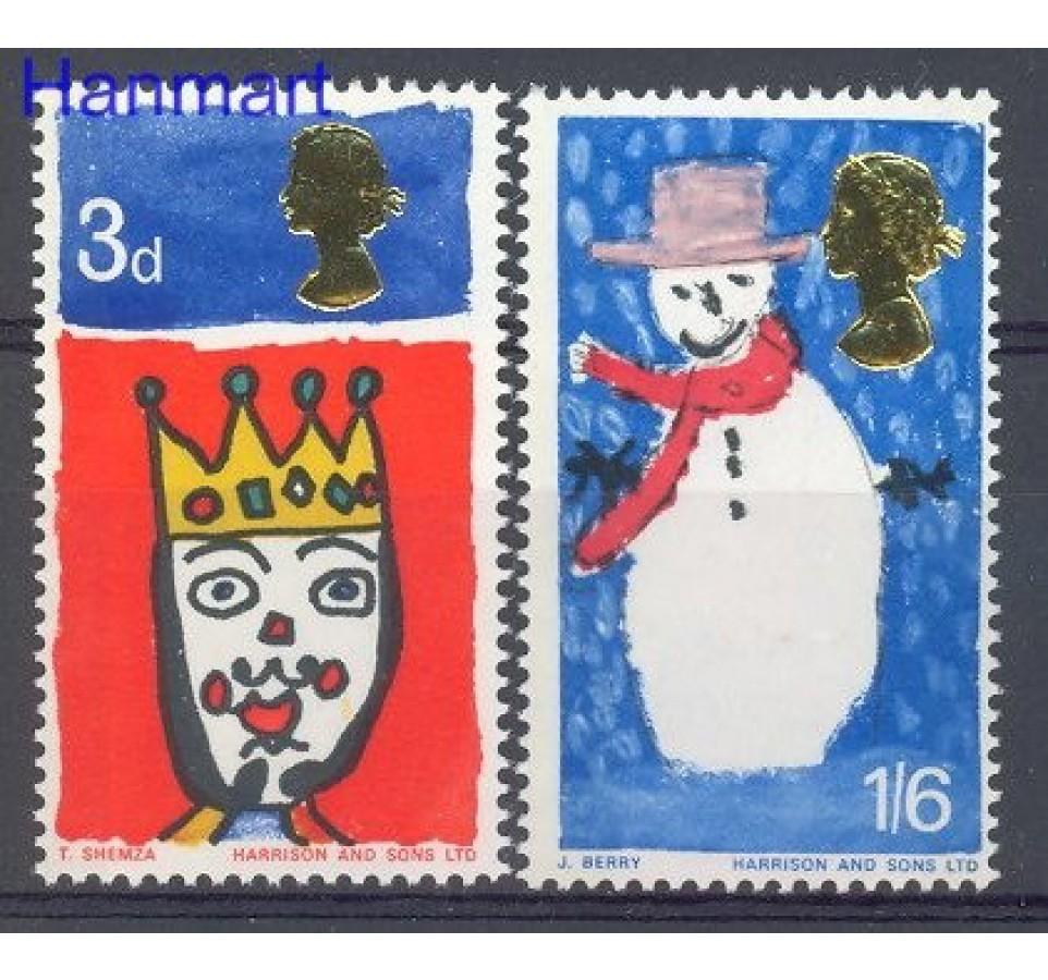 Wielka Brytania 1966 Mi 442-443 Czyste **