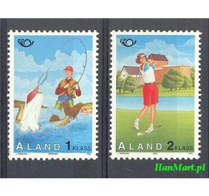 Znaczek Wyspy Alandzkie 1995 Mi 102-103 Czyste **