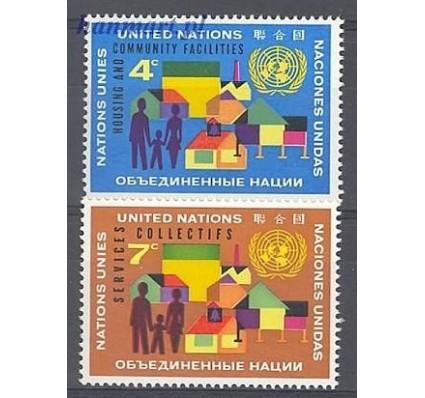 Znaczek Narody Zjednoczone Nowy Jork 1962 Mi 114-115 Czyste **