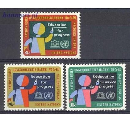 Znaczek Narody Zjednoczone Nowy Jork 1964 Mi 145-147 Czyste **
