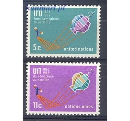 Znaczek Narody Zjednoczone Nowy Jork 1965 Mi 152-153 Czyste **