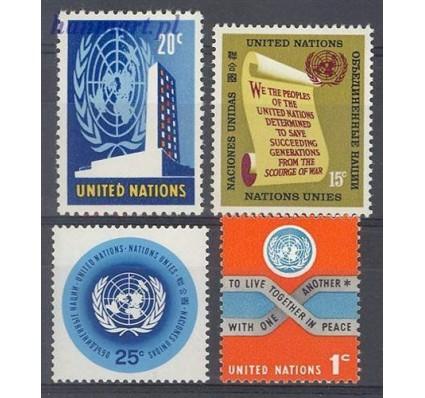 Znaczek Narody Zjednoczone Nowy Jork 1965 Mi 156-159 Czyste **