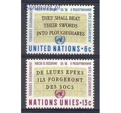 Znaczek Narody Zjednoczone Nowy Jork 1967 Mi 187-188 Czyste **