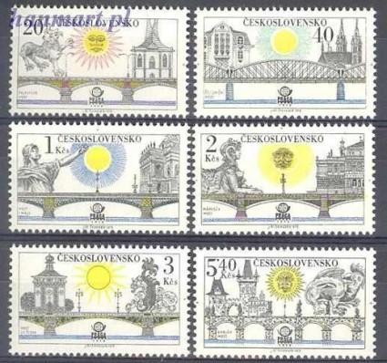 Znaczek Czechosłowacja 1978 Mi 2445-2450 Czyste **