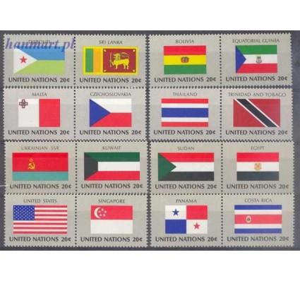 Znaczek Narody Zjednoczone Nowy Jork 1981 Mi 373-388 Czyste **
