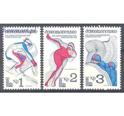 Znaczek Czechosłowacja 1980 Mi 2544-2546 Czyste **