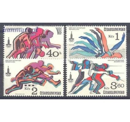 Znaczek Czechosłowacja 1980 Mi 2547-2550 Czyste **