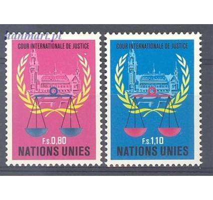 Znaczek Narody Zjednoczone Genewa 1979 Mi 86-87 Czyste **