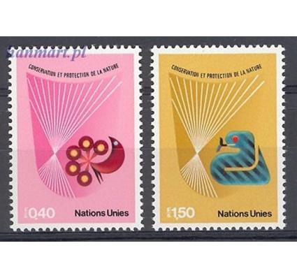 Znaczek Narody Zjednoczone Genewa 1982 Mi 109-110 Czyste **