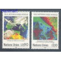Narody Zjednoczone Genewa 1989 Mi 176-177 Czyste **