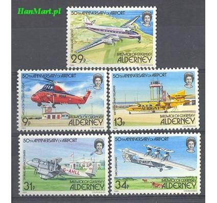 Alderney 1985 Mi 18-22 Czyste **