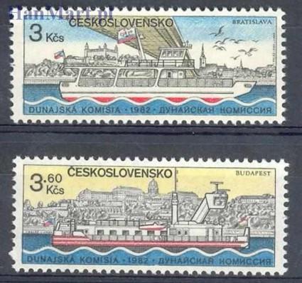 Znaczek Czechosłowacja 1982 Mi 2679-2680 Czyste **
