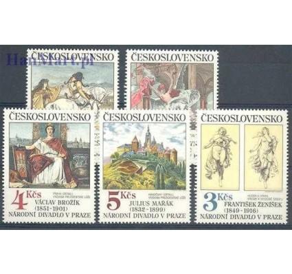 Znaczek Czechosłowacja 1983 Mi 2737-2741 Czyste **