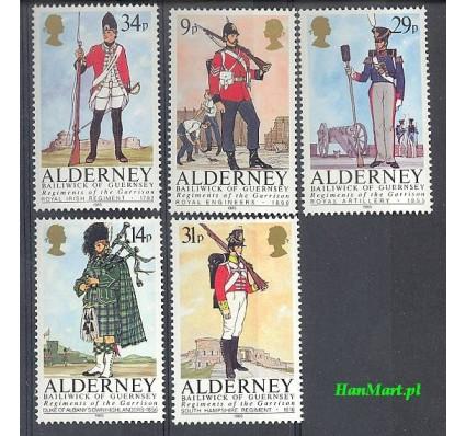 Alderney 1985 Mi 23-27 Czyste **