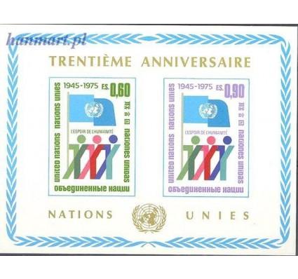 Znaczek Narody Zjednoczone Genewa 1975 Mi bl 1 Czyste **