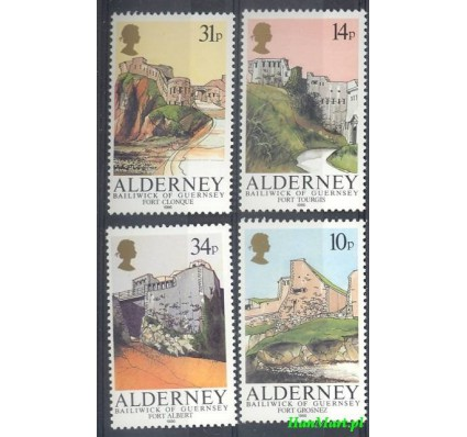 Alderney 1986 Mi 28-31 Czyste **