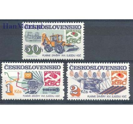 Znaczek Czechosłowacja 1985 Mi 2831-2833 Czyste **