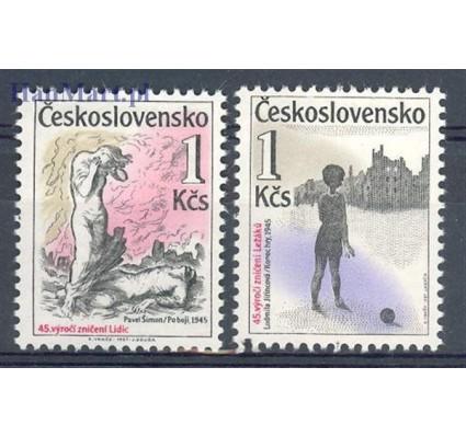 Znaczek Czechosłowacja 1987 Mi 2916-2917 Czyste **