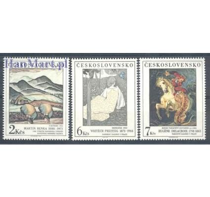 Znaczek Czechosłowacja 1988 Mi 2979-2981 Czyste **