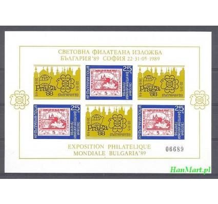 Bułgaria 1989 Mi bl 185 Czyste **