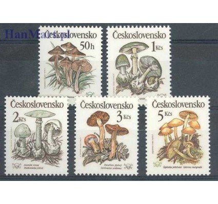 Czechosłowacja 1989 Mi 3017-3021 Czyste **