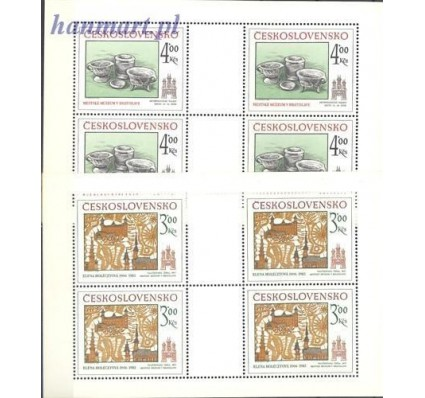 Znaczek Czechosłowacja 1985 Mi 2825-2826 Czyste **