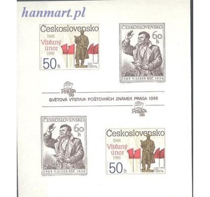 Znaczek Czechosłowacja 1988 Mi bl 77B Czyste **