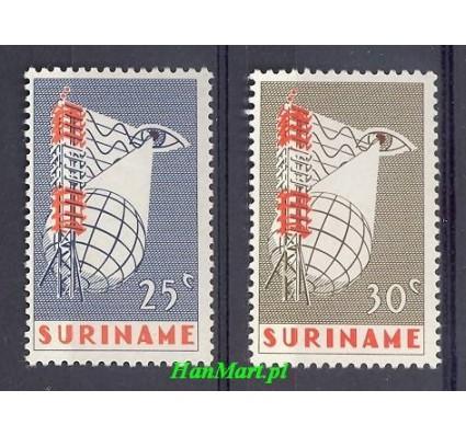 Znaczek Surinam 1966 Mi 505-506 Czyste **