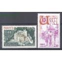 Francja 1976 Mi 1976-1977 Czyste **