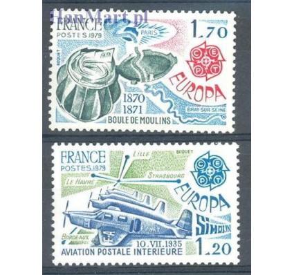 Znaczek Francja 1979 Mi 2148-2149 Czyste **
