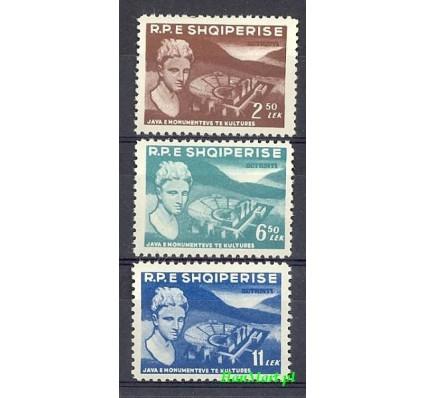Albania 1959 Mi 572-574 Czyste **